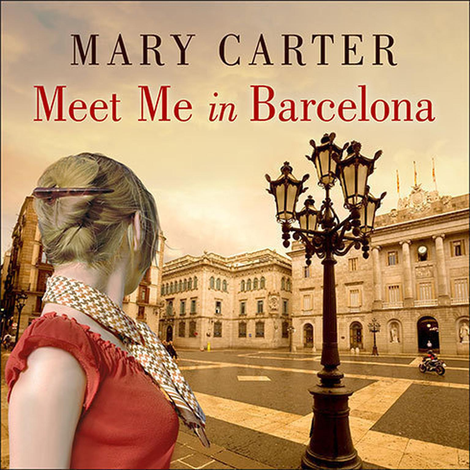 Printable Meet Me in Barcelona Audiobook Cover Art