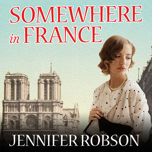 Printable Somewhere in France: A Novel of the Great War Audiobook Cover Art