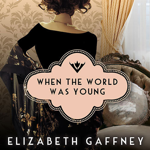 Printable When the World Was Young: A Novel Audiobook Cover Art