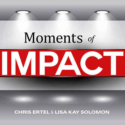 Printable Moments of Impact: How to Design Strategic Conversations That Accelerate Change Audiobook Cover Art
