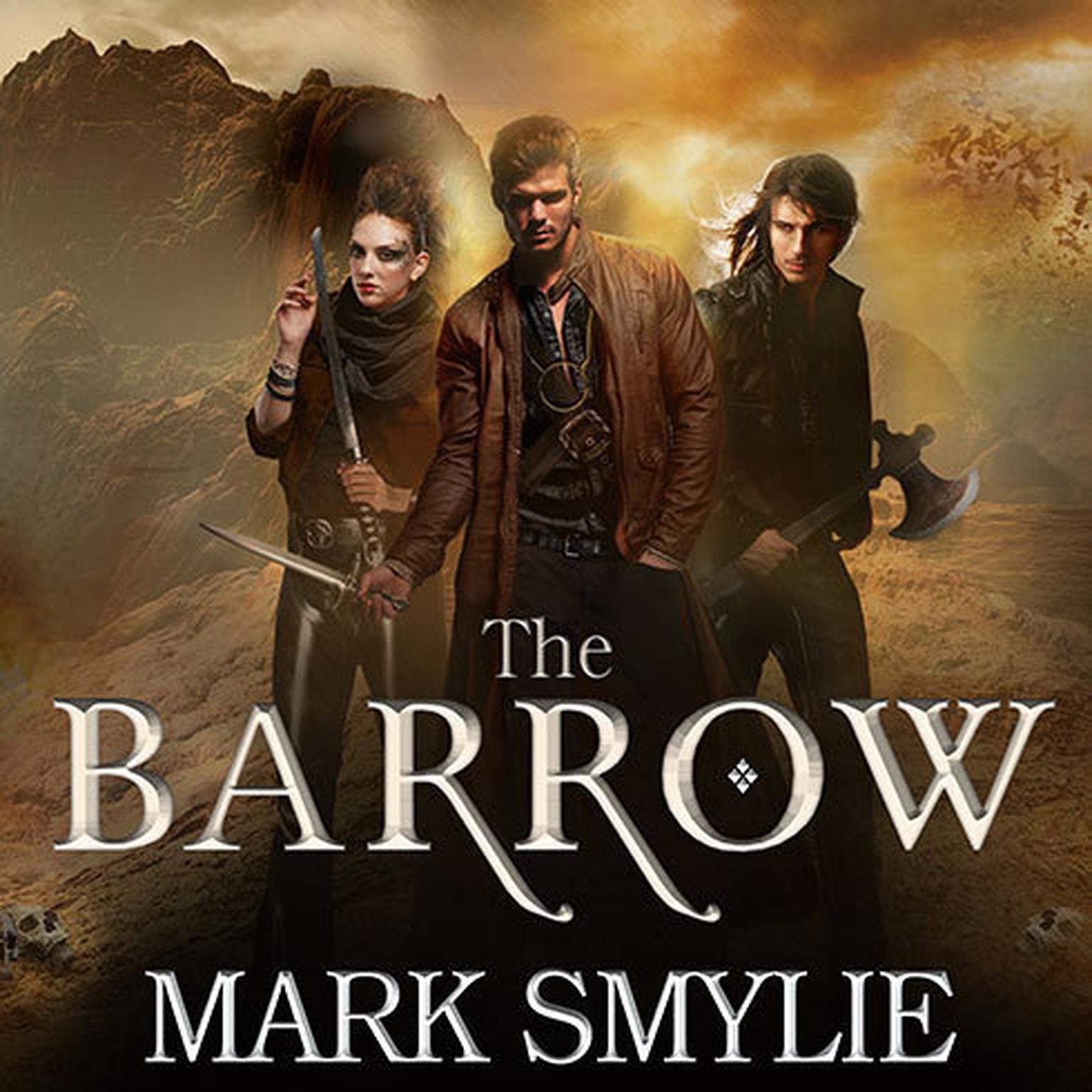 Printable The Barrow Audiobook Cover Art