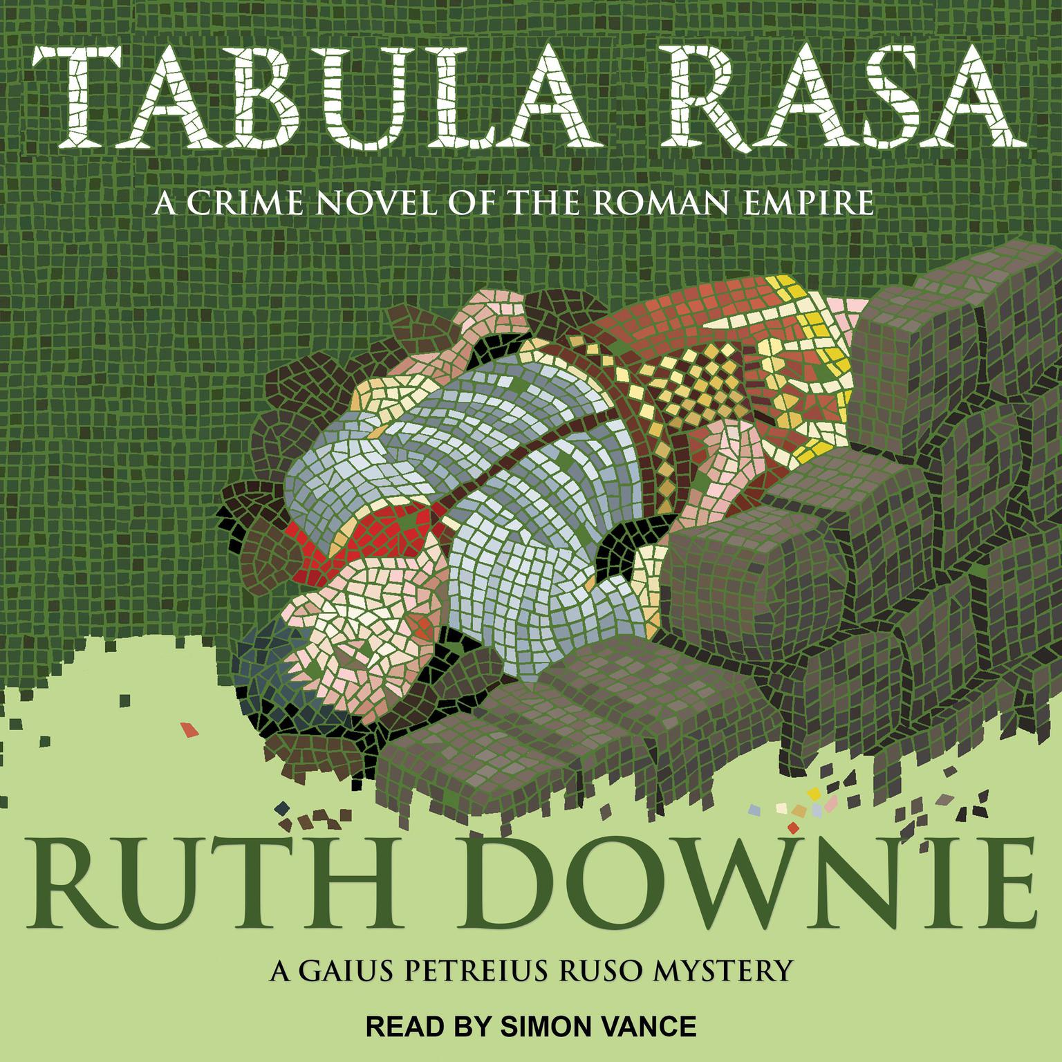 Printable Tabula Rasa: A Crime Novel of the Roman Empire Audiobook Cover Art
