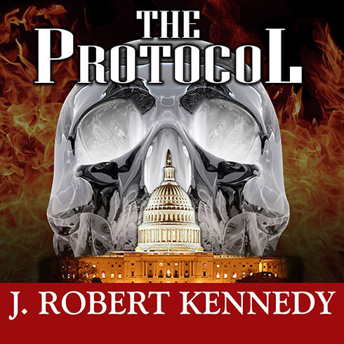 Printable The Protocol: A James Acton Thriller Audiobook Cover Art