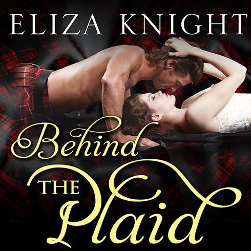 Printable Behind the Plaid Audiobook Cover Art