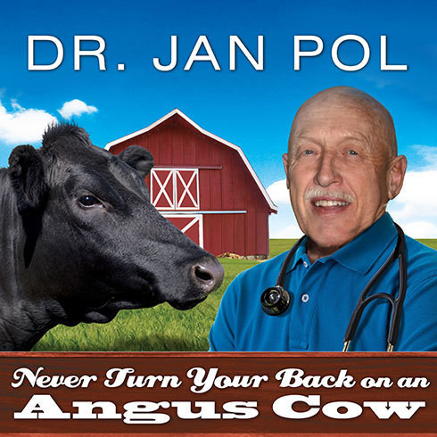 Printable Never Turn Your Back on an Angus Cow: My Life As a Country Vet Audiobook Cover Art