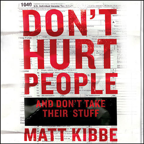 Printable Don't Hurt People and Don't Take Their Stuff: A Libertarian Manifesto Audiobook Cover Art