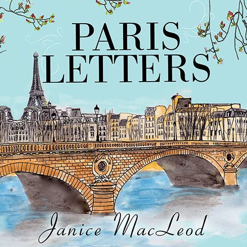Printable Paris Letters Audiobook Cover Art