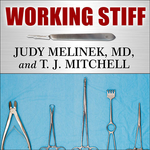 Printable Working Stiff: Two Years, 262 Bodies, and the Making of a Medical Examiner Audiobook Cover Art