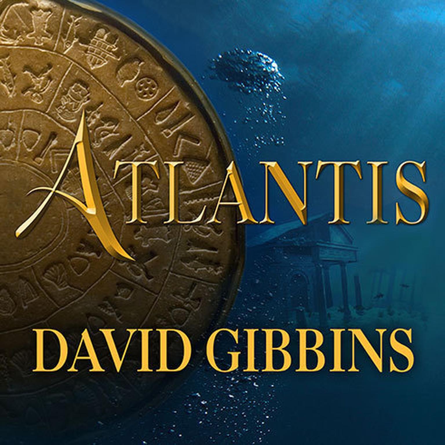 Printable Atlantis Audiobook Cover Art