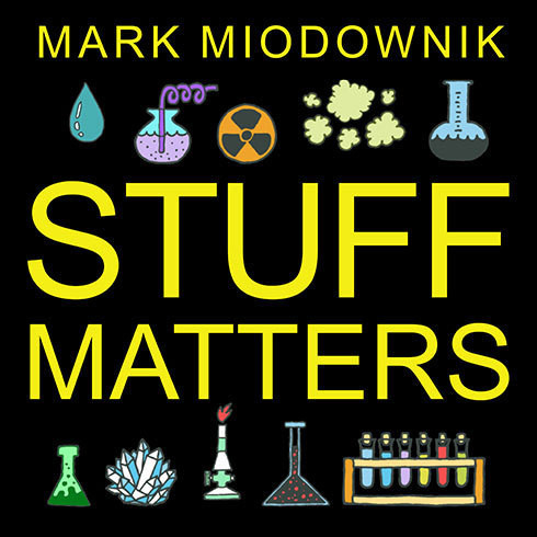 Printable Stuff Matters: Exploring the Marvelous Materials That Shape Our Man-made World Audiobook Cover Art