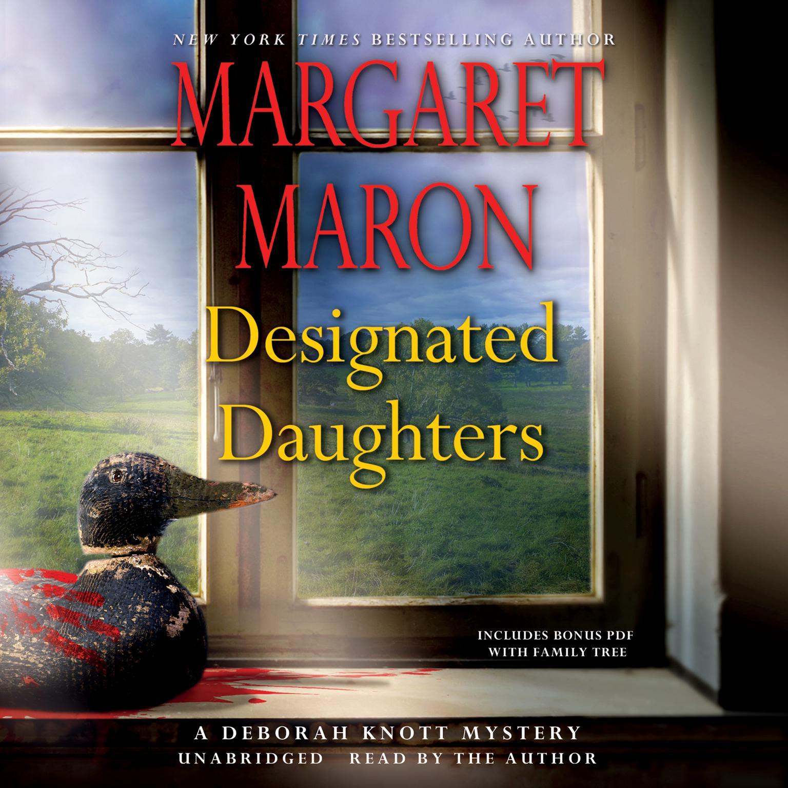 Printable Designated Daughters Audiobook Cover Art