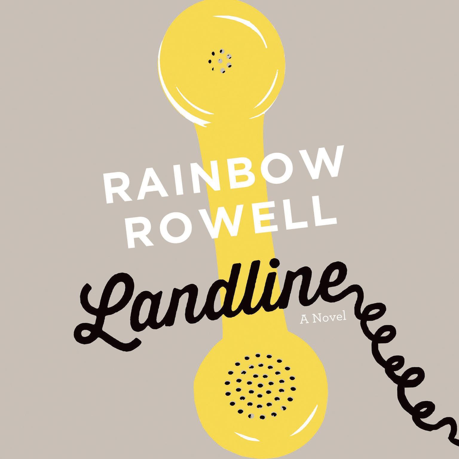 Printable Landline: A Novel Audiobook Cover Art