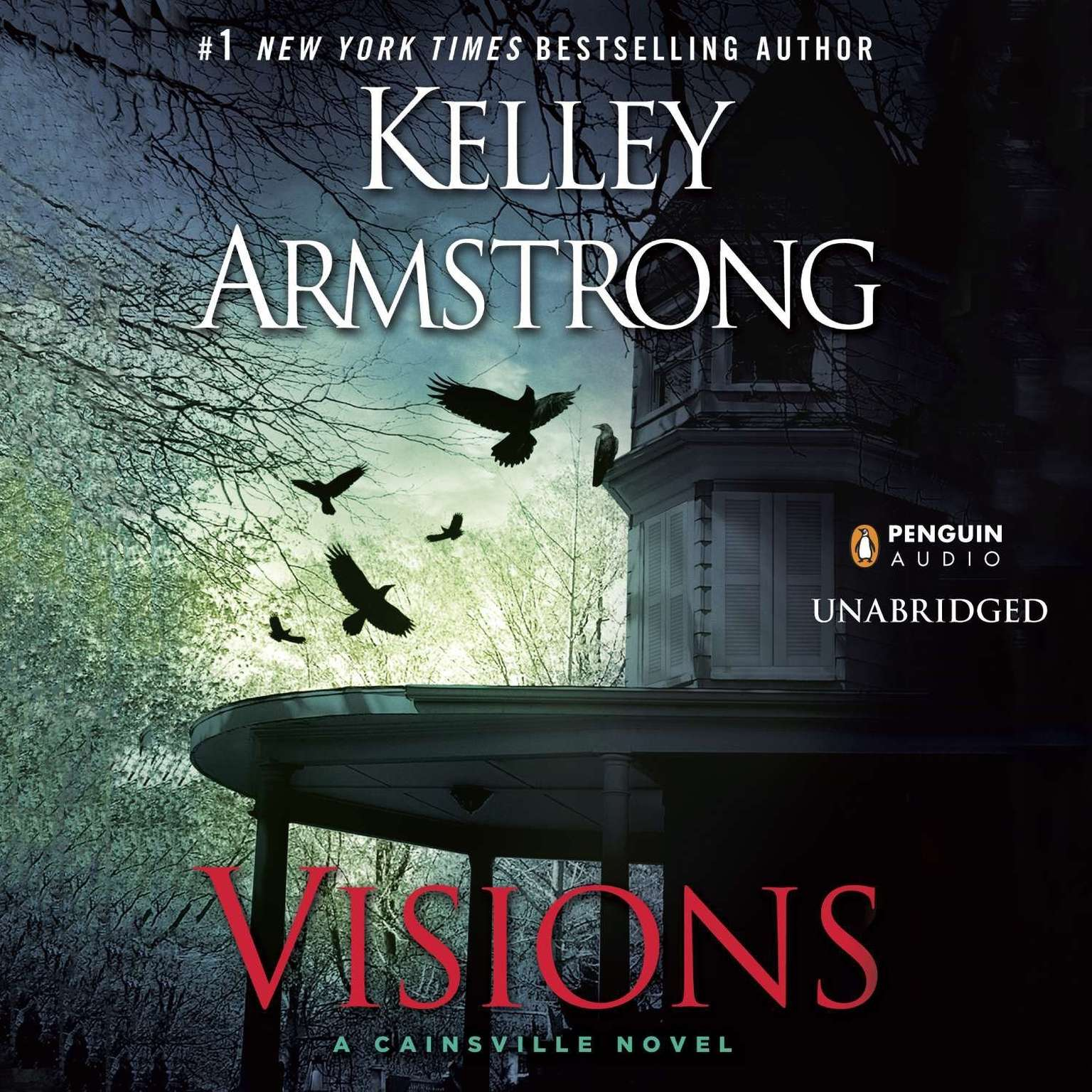 Printable Visions: A Cainsville Novel Audiobook Cover Art