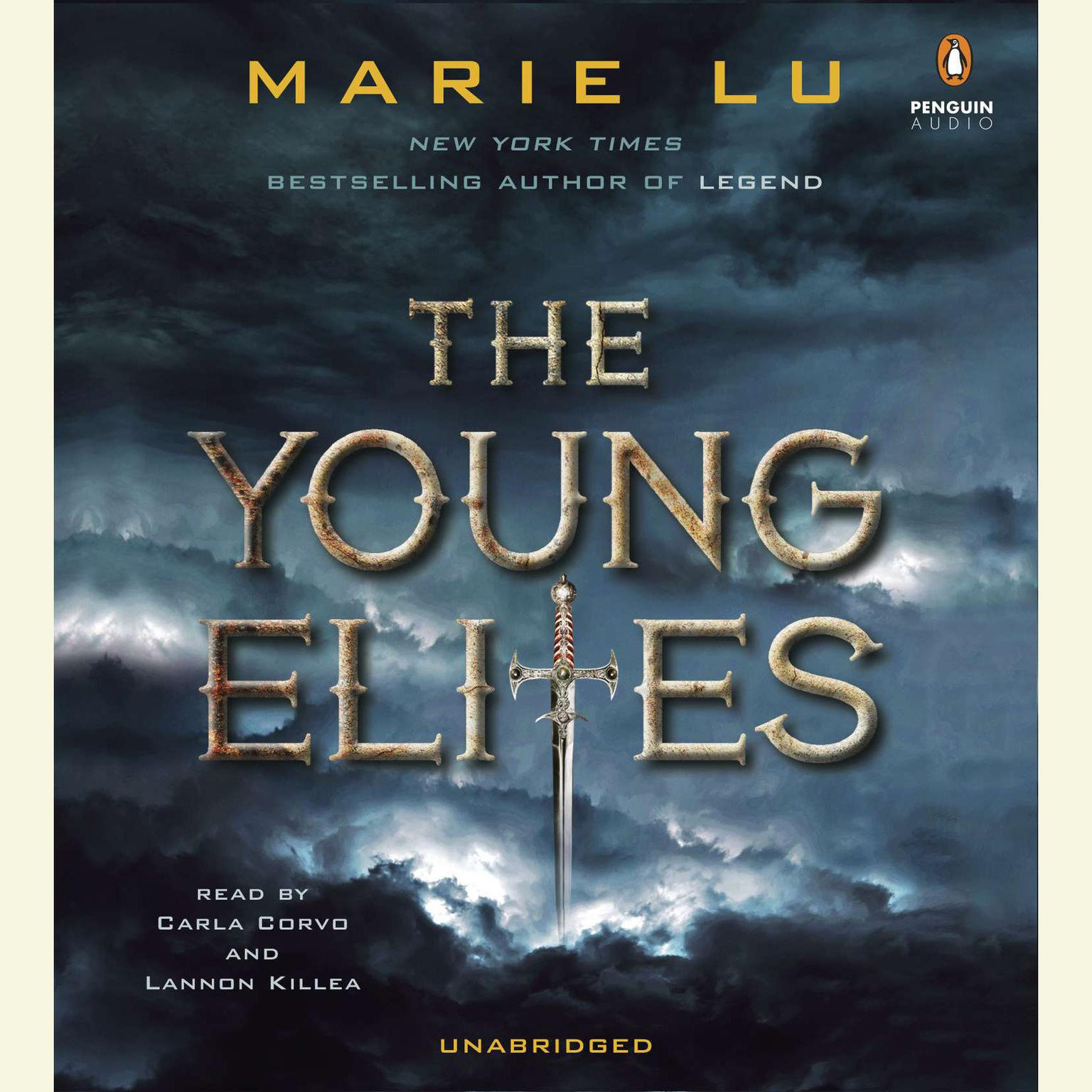 Printable The Young Elites Audiobook Cover Art