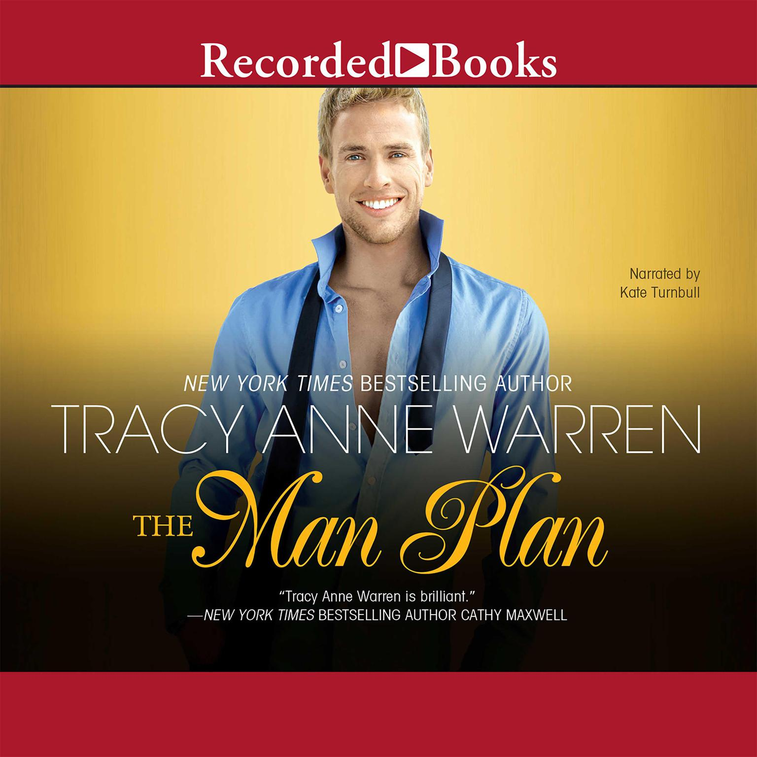 Printable The Man Plan Audiobook Cover Art