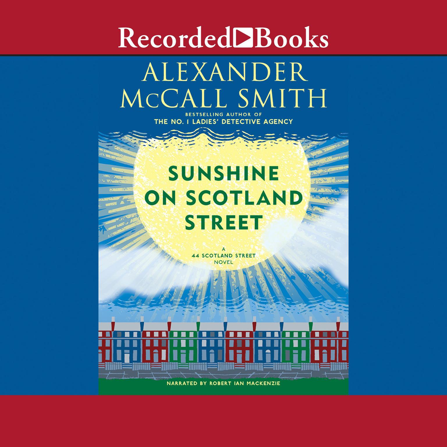 Printable Sunshine on Scotland Street Audiobook Cover Art