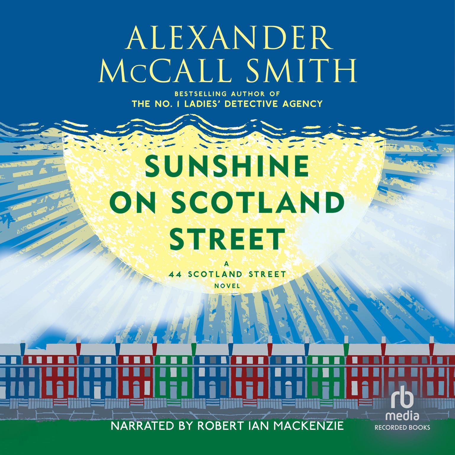 Printable Sunshine on Scotland Street Audiobook Cover Art
