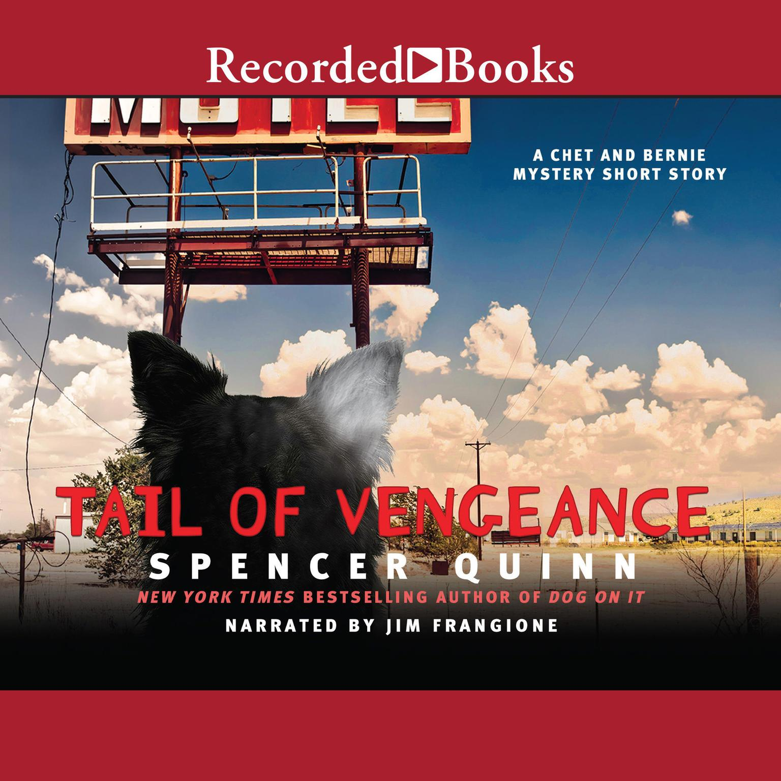 Printable Tail of Vengeance: A Chet and Bernie Mystery Short Story Audiobook Cover Art