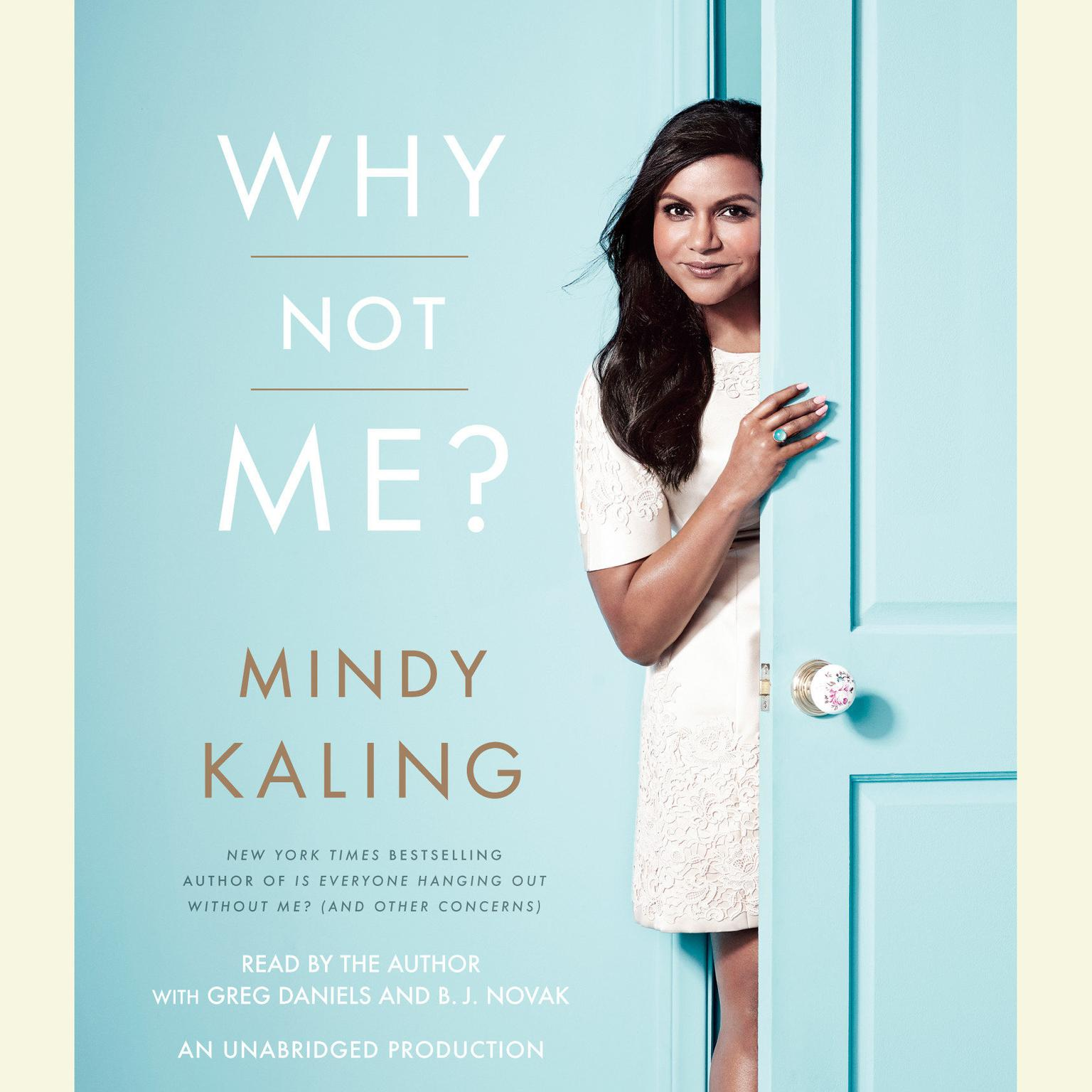 Printable Why Not Me? Audiobook Cover Art