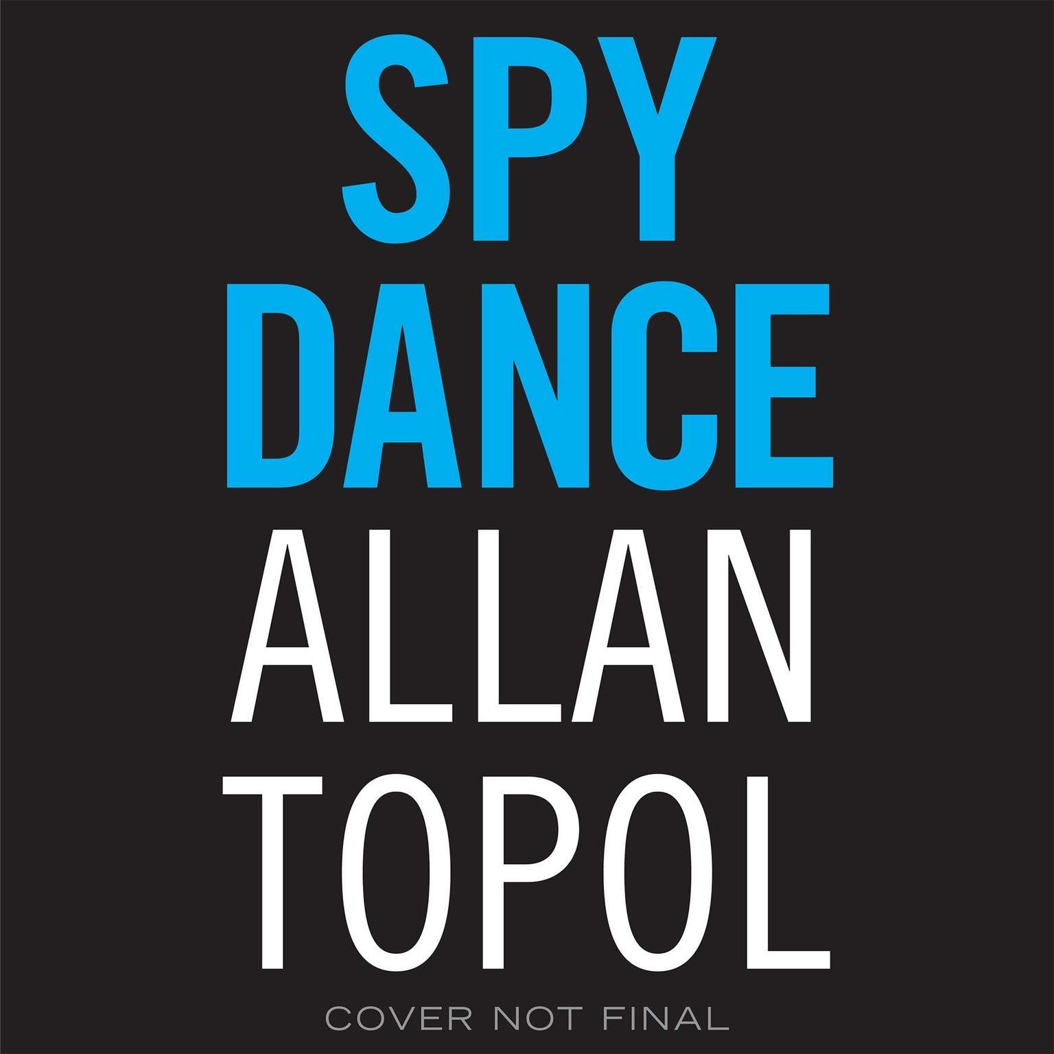 Printable Spy Dance Audiobook Cover Art