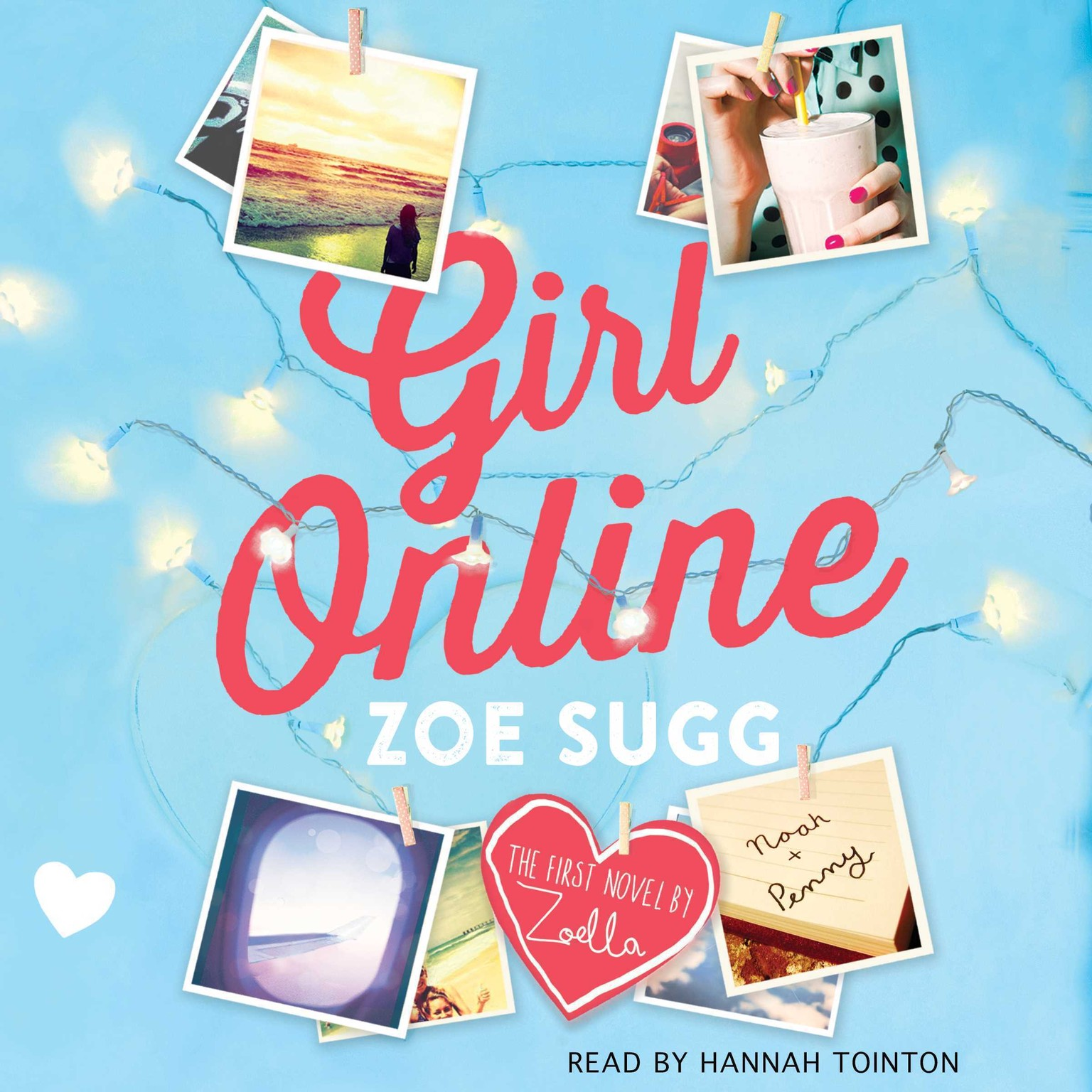 Printable Girl Online Audiobook Cover Art