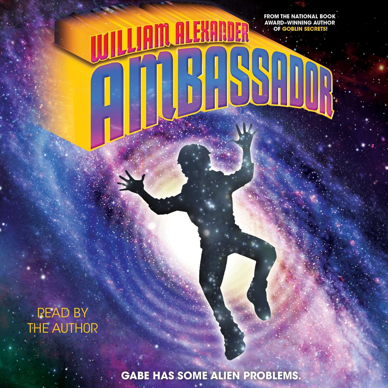 Printable Ambassador Audiobook Cover Art