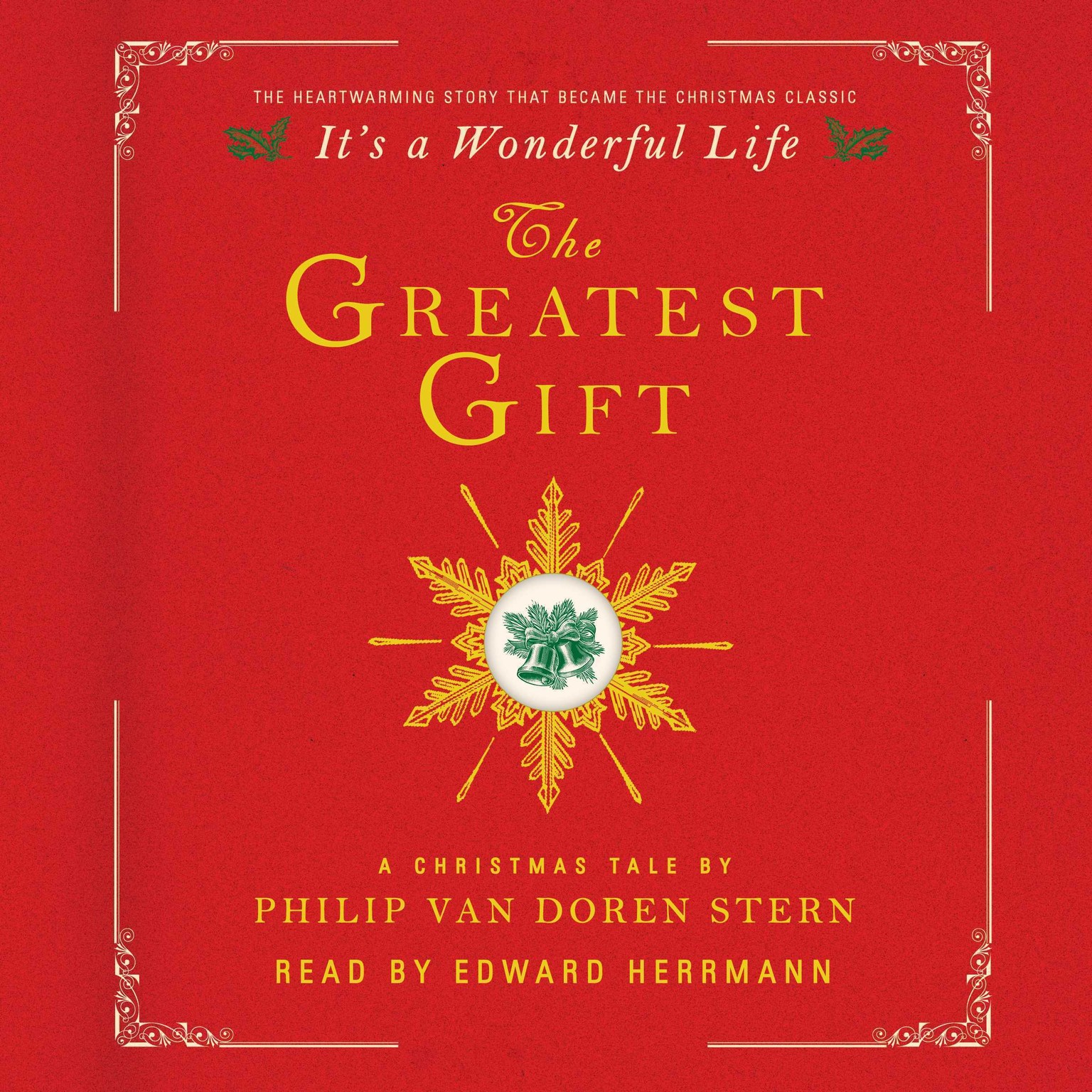 Printable The Greatest Gift: A Christmas Tale Audiobook Cover Art