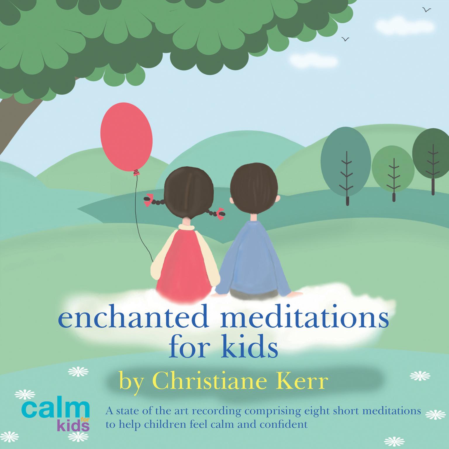Printable Enchanted Meditations for Kids Audiobook Cover Art