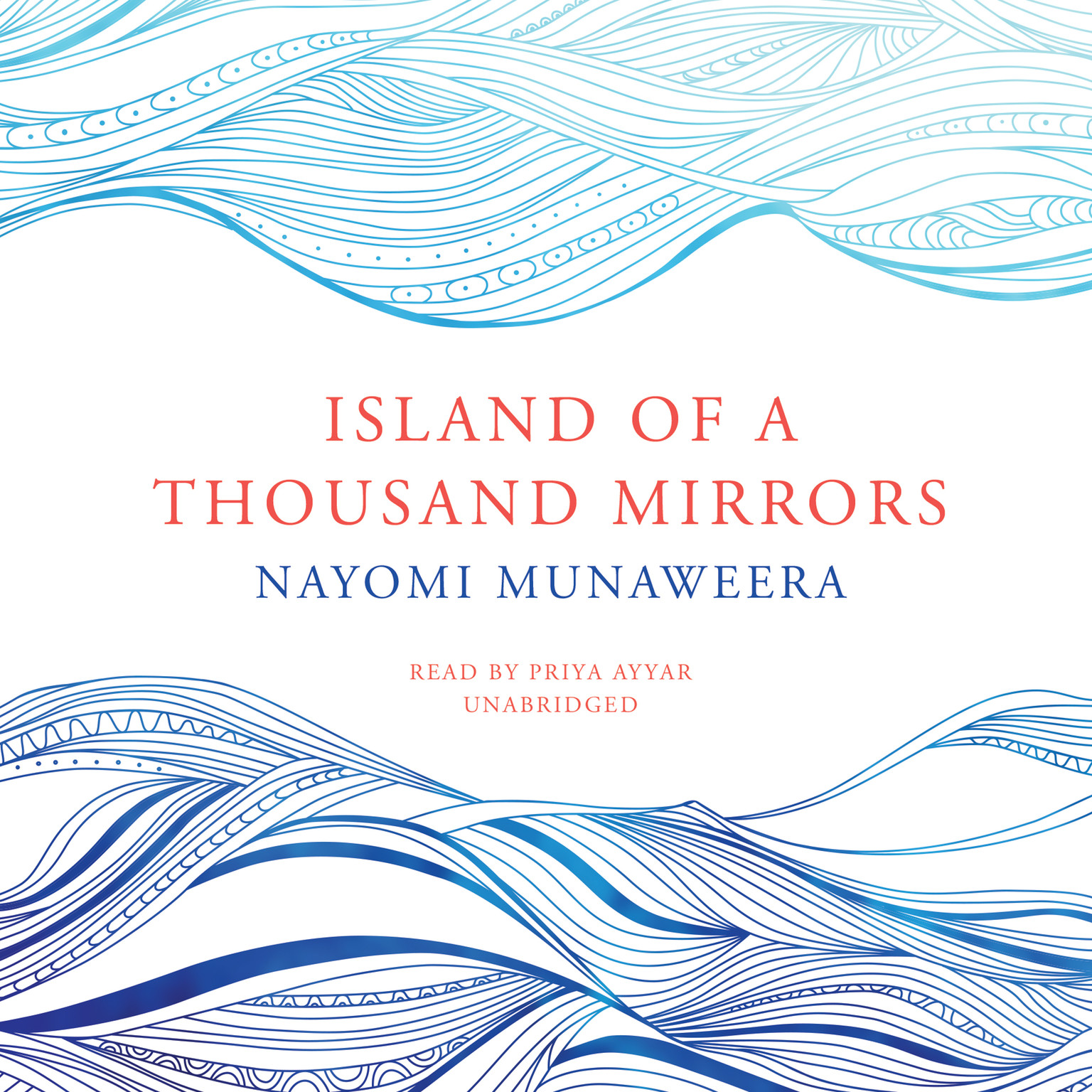 Printable Island of a Thousand Mirrors Audiobook Cover Art