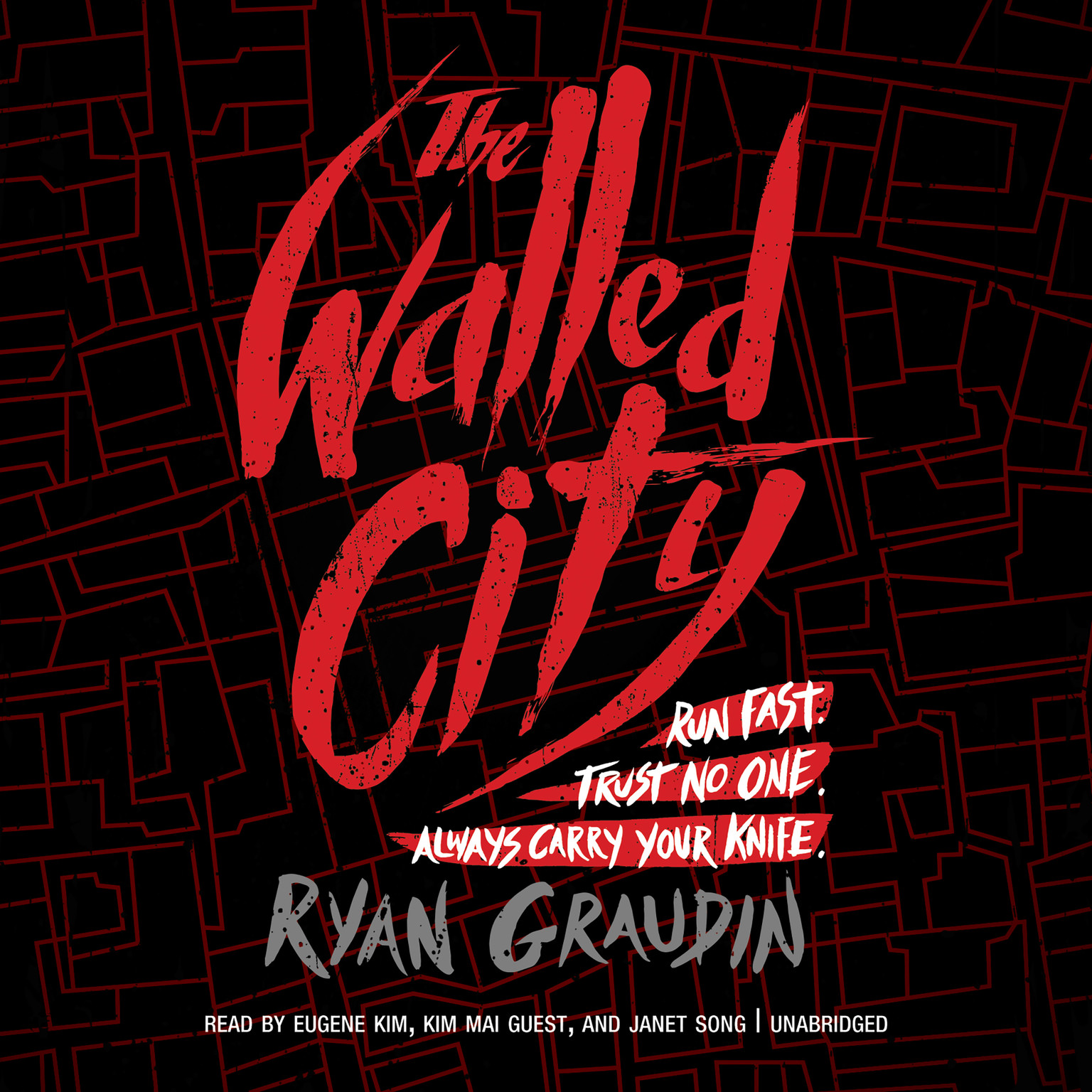 Printable The Walled City Audiobook Cover Art