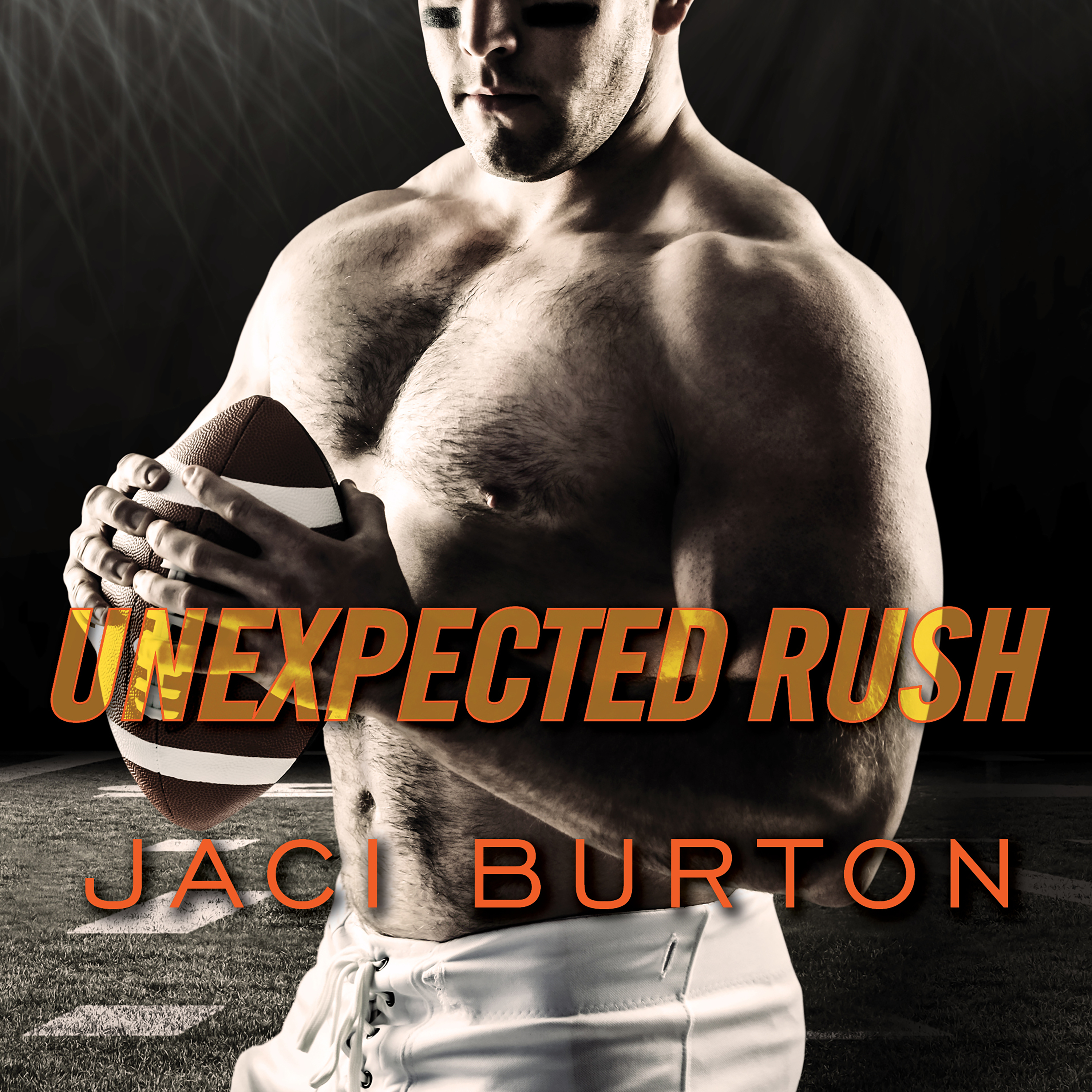 Printable Unexpected Rush Audiobook Cover Art
