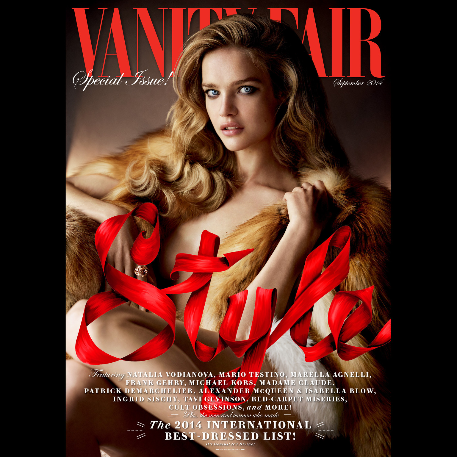 Printable Vanity Fair: September 2014 Issue Audiobook Cover Art