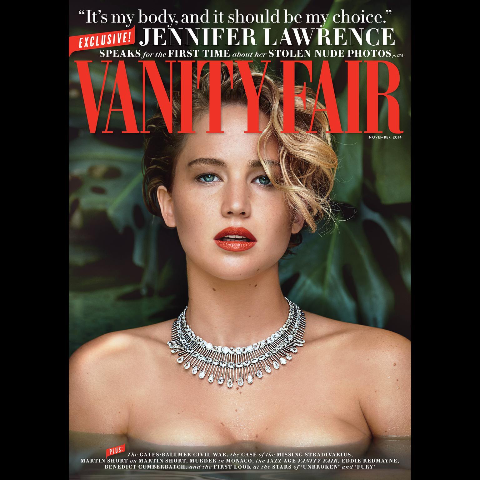 Printable Vanity Fair: November 2014 Issue Audiobook Cover Art