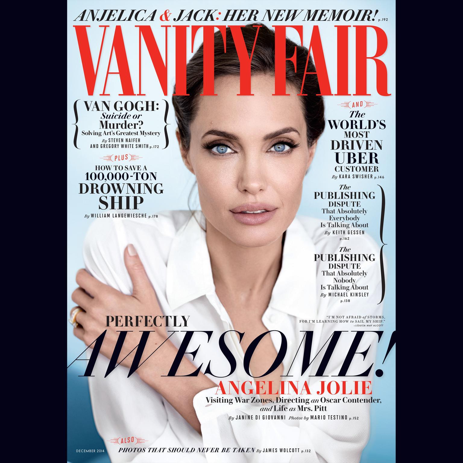 Printable Vanity Fair: December 2014 Issue Audiobook Cover Art