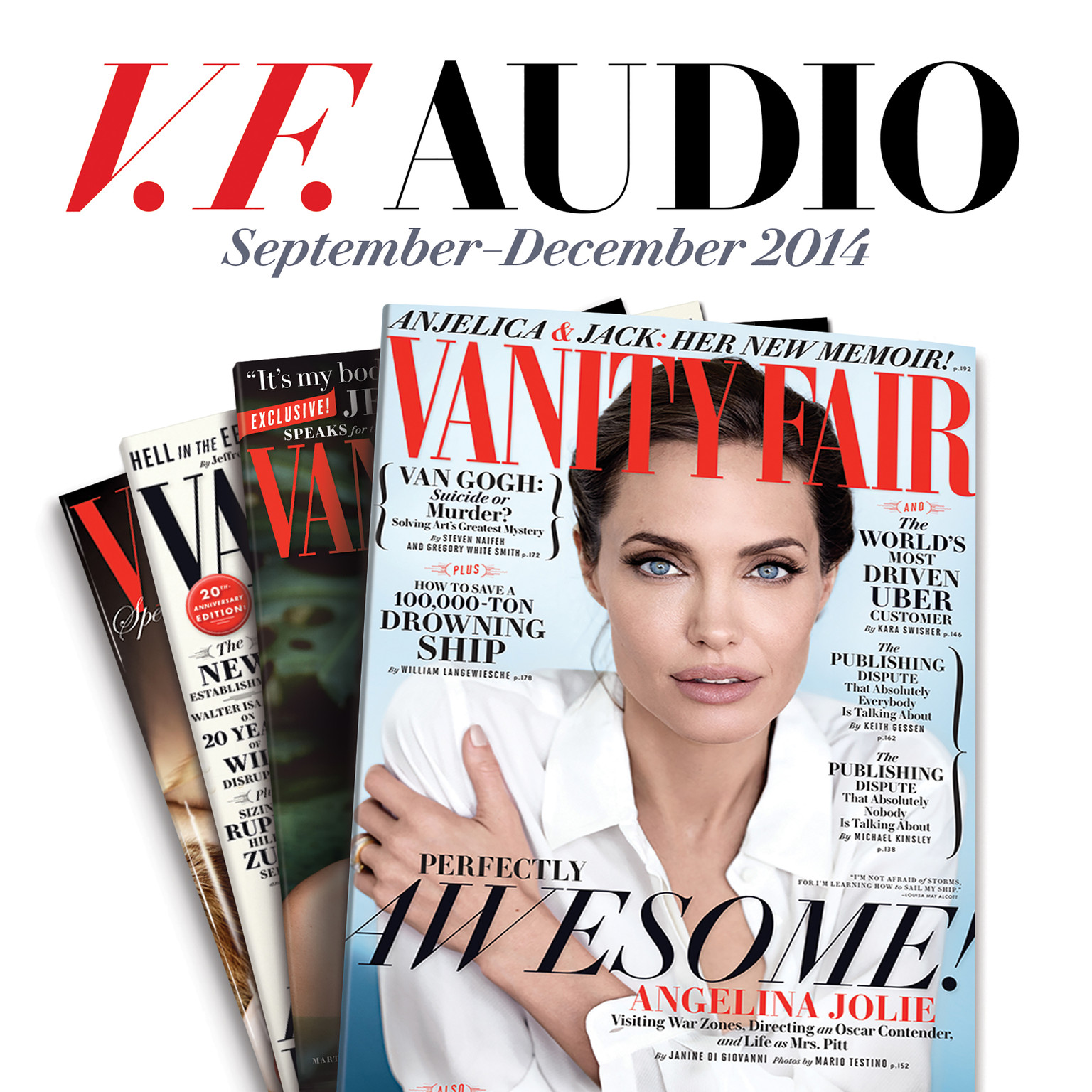 Printable Vanity Fair: September–December 2014 Issue Audiobook Cover Art