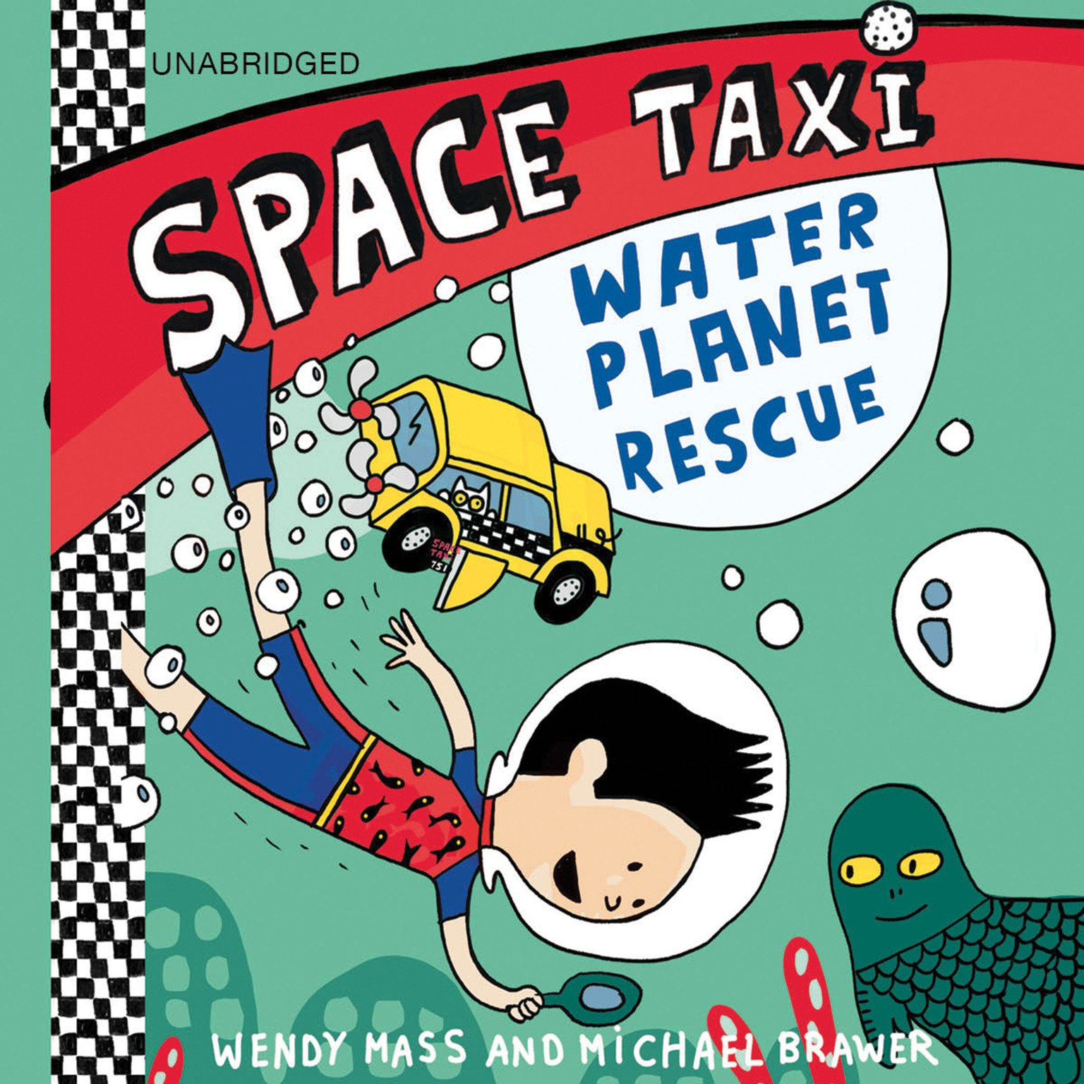 Printable Space Taxi: Water Planet Rescue Audiobook Cover Art