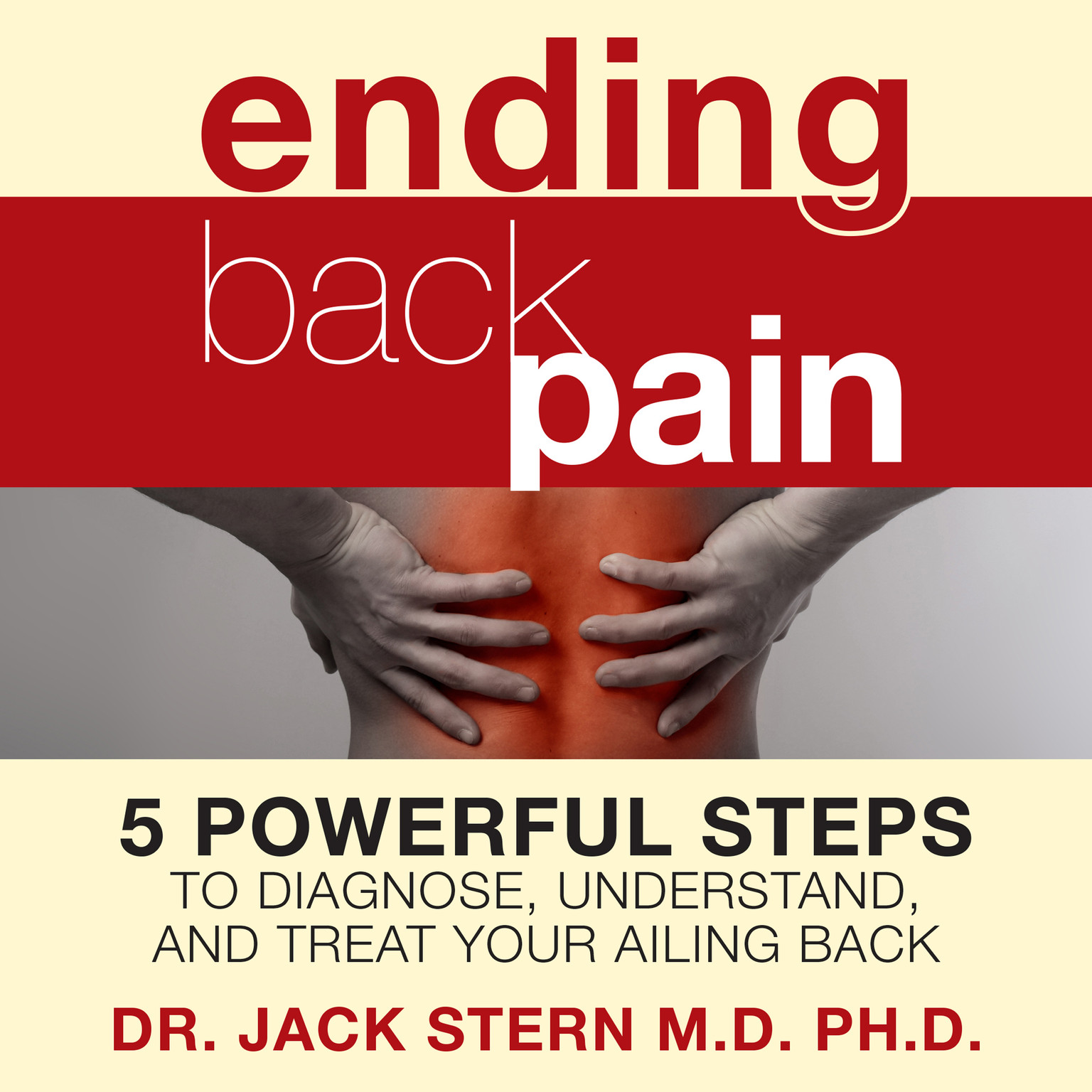 Printable Ending Back Pain: 5 Powerful Steps to Diagnose, Understand, and Treat Your Ailing Back Audiobook Cover Art