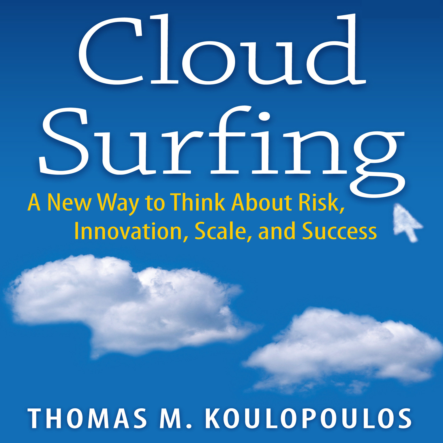 Printable Cloud Surfing: A New Way to Think About Risk, Innovation, Scale, and Success Audiobook Cover Art
