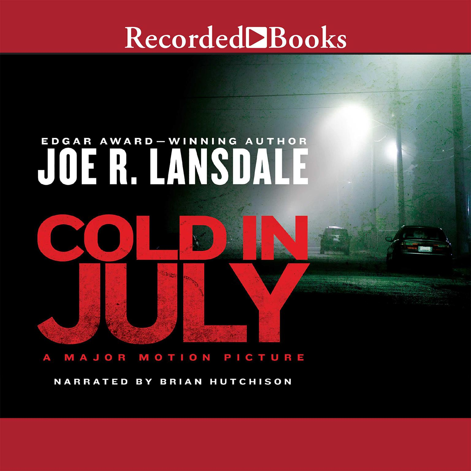Printable Cold in July Audiobook Cover Art