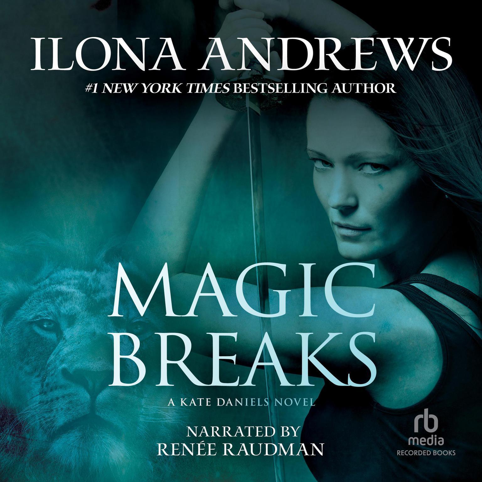 Printable Magic Breaks Audiobook Cover Art