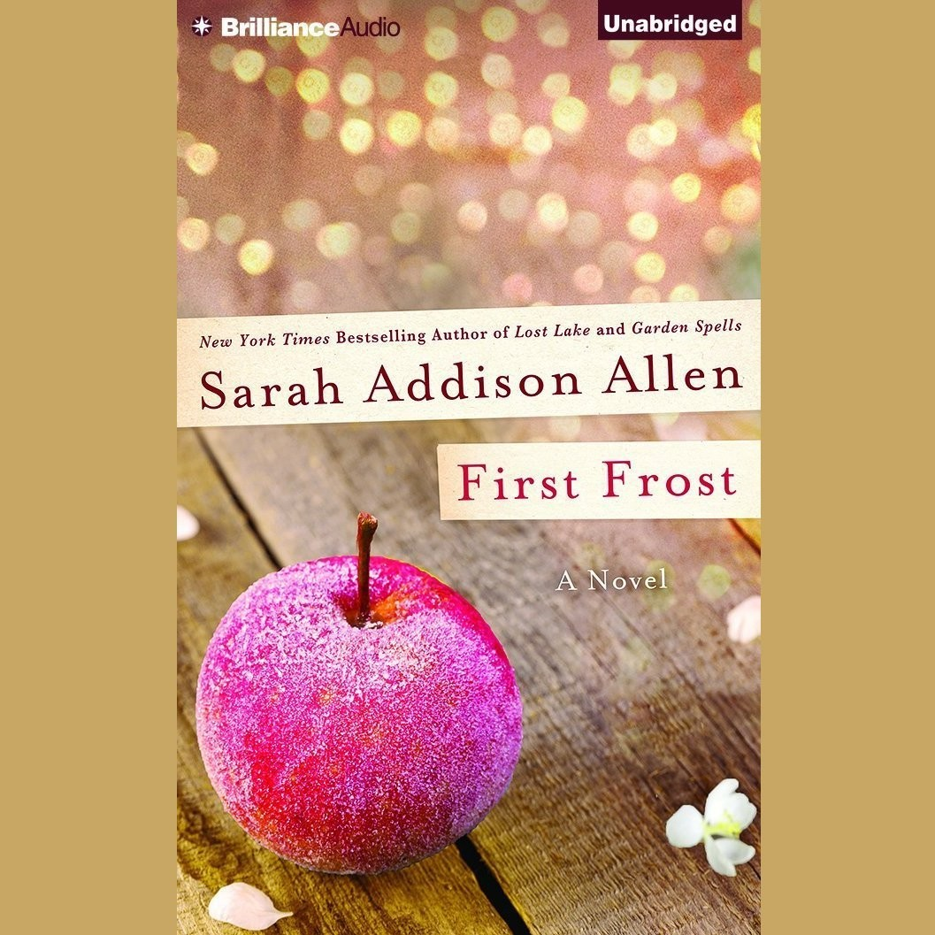 Printable First Frost Audiobook Cover Art