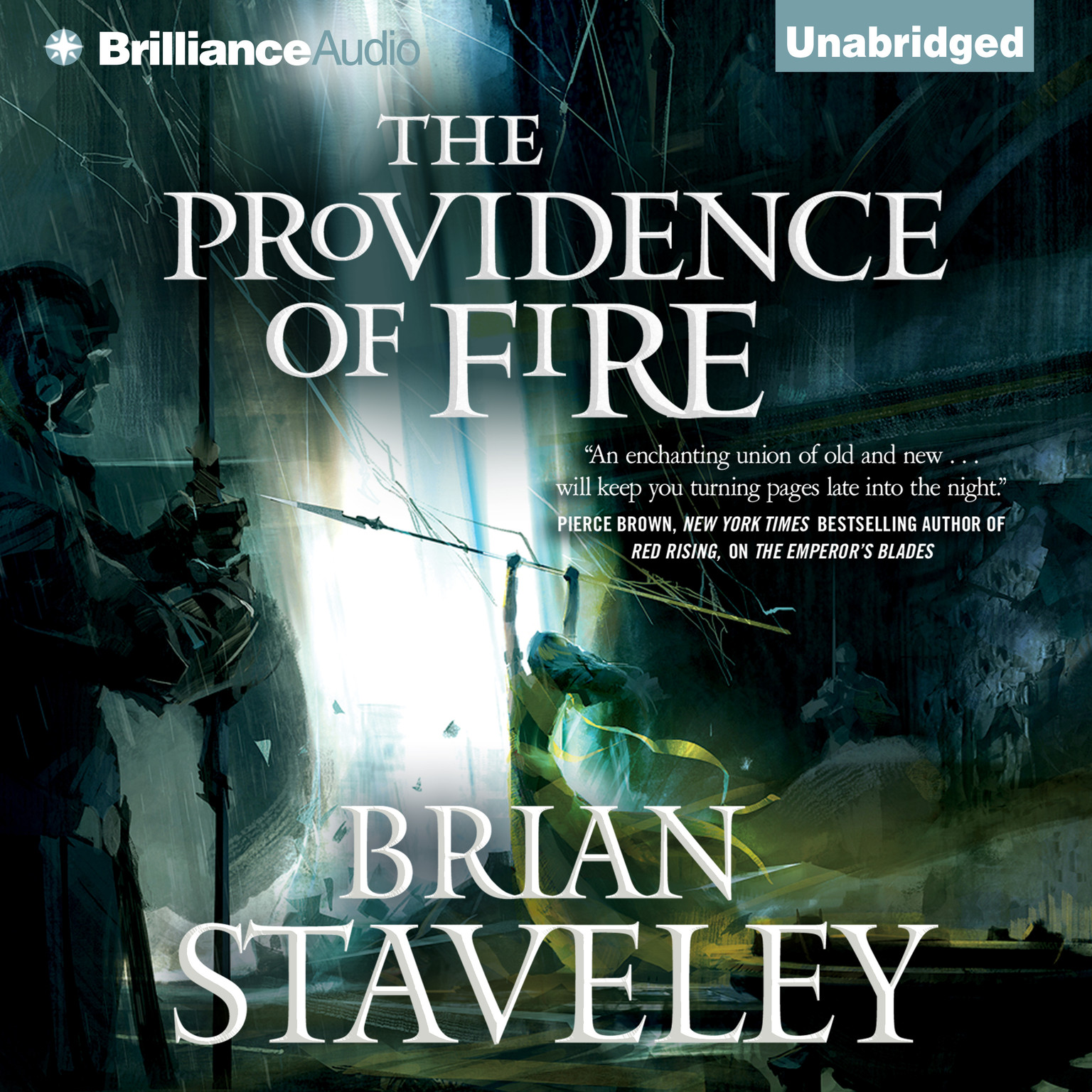 Printable The Providence of Fire Audiobook Cover Art