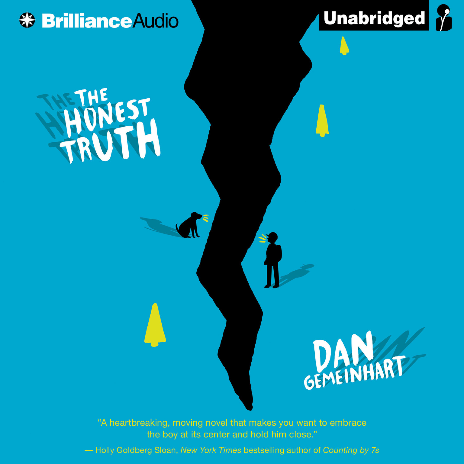 Printable The Honest Truth Audiobook Cover Art