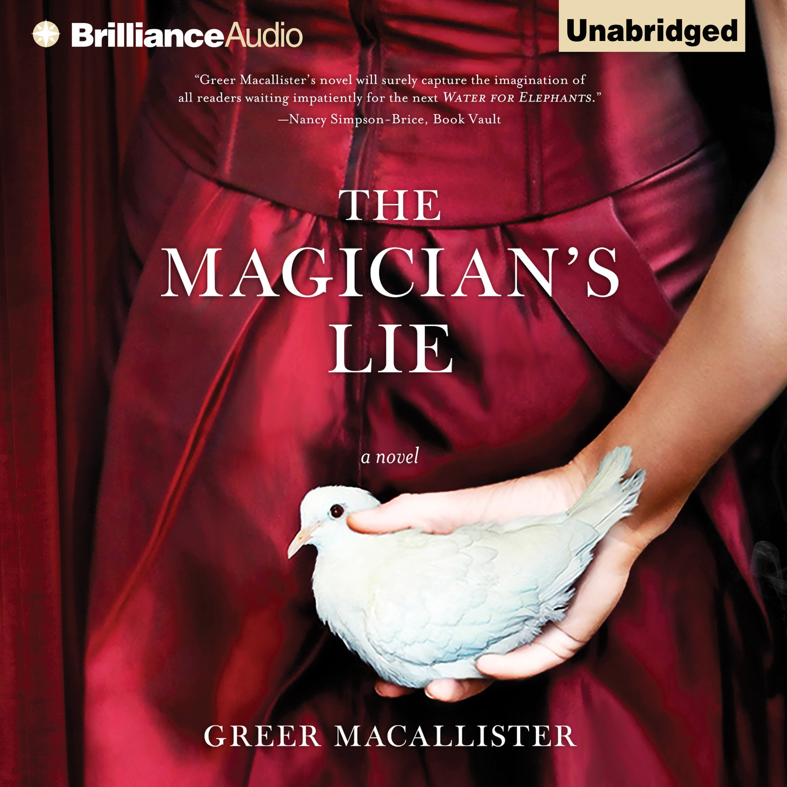 Printable The Magician's Lie: A Novel Audiobook Cover Art
