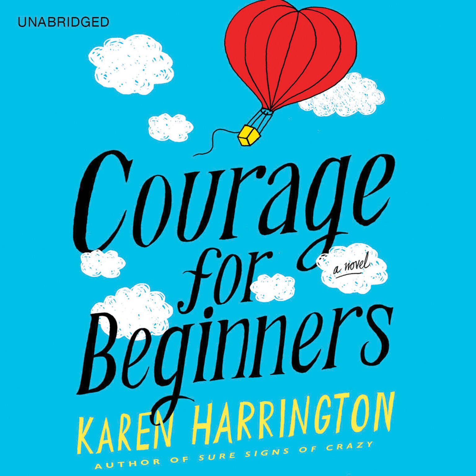 Printable Courage for Beginners Audiobook Cover Art