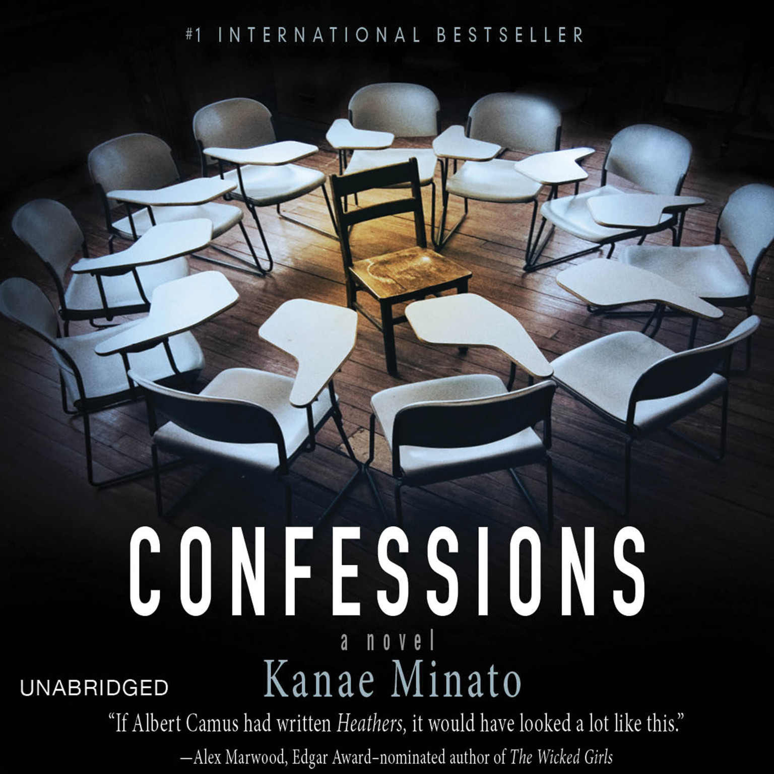 Printable Confessions: A Novel Audiobook Cover Art