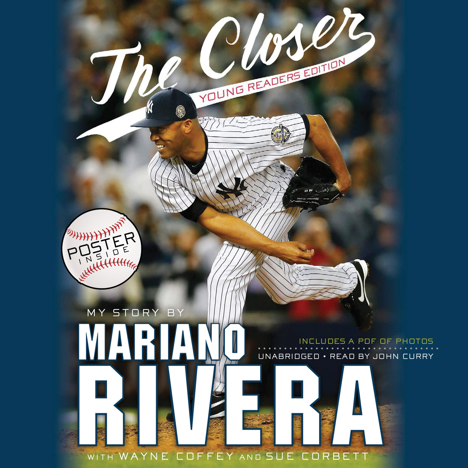 Printable The Closer: Young Readers Edition Audiobook Cover Art