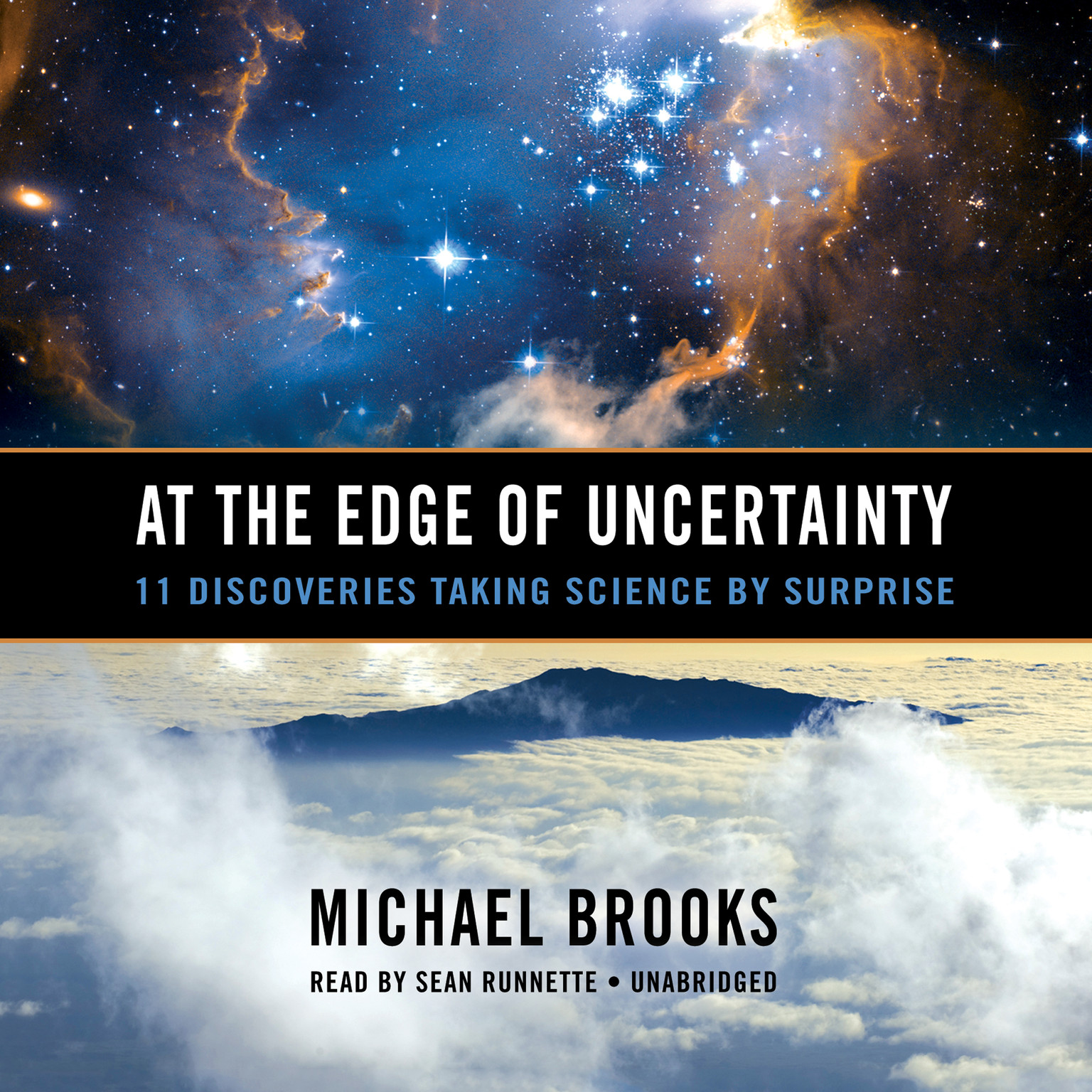 Printable At the Edge of Uncertainty: 11 Discoveries Taking Science by Surprise Audiobook Cover Art
