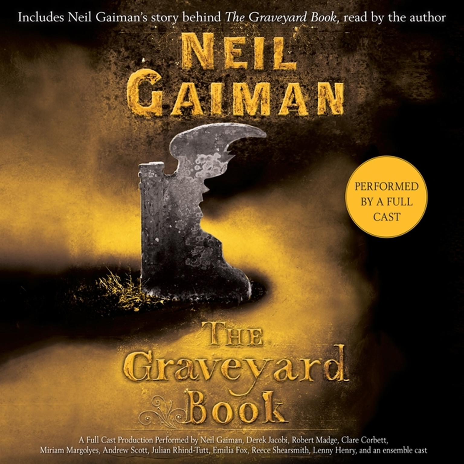 Printable The Graveyard Book: Full Cast Production Audiobook Cover Art