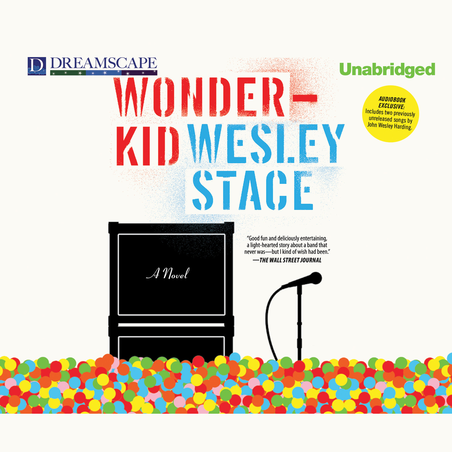 Printable Wonderkid Audiobook Cover Art